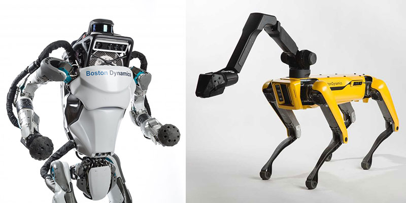 Robots of Boston Dynamics